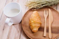 健康恋人妇女早餐  图库摄影