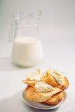 健康早餐产品 免版税库存图片