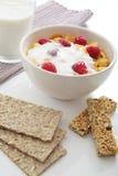 健康早餐的纤维 库存照片