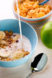 健康早餐 免版税库存图片