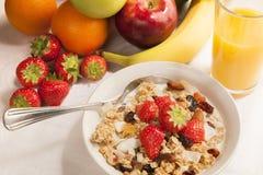 健康早餐 库存照片
