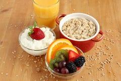健康早餐 免版税库存照片