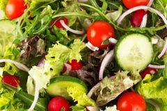 健康有机沙拉 免版税库存照片