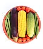健康有机菜 免版税库存照片