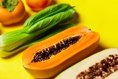 健康未加工的有机食品 果子,菜的构成 veg 图库摄影
