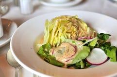 健康查找的沙拉蔬菜 库存照片