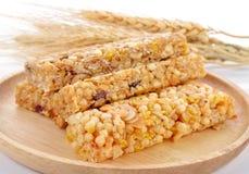 健康格兰诺拉麦片早餐 免版税库存图片