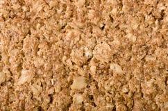 健康格兰诺拉麦片棒背景 整粒燕麦,拷贝空间 免版税图库摄影
