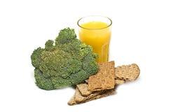 健康概念的食物 免版税库存图片