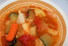 健康汤蔬菜 库存图片