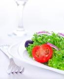健康沙拉开胃菜 免版税库存照片