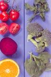 健康滋补食物当来源叶酸、矿物、维生素B9和饮食纤维 库存照片