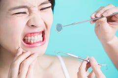 健康牙齿概念 免版税库存照片