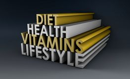 健康生活方式 向量例证