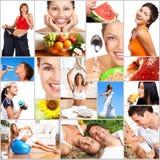 健康生活方式 免版税库存图片