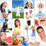 健康生活方式 免版税库存照片