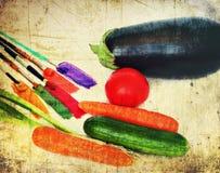 健康生活和艺术的颜色品种 例证百合红色样式葡萄酒 库存照片
