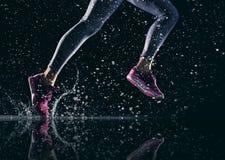 健康生活方式和体育概念 免版税库存照片