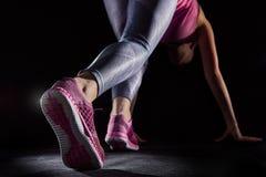 健康生活方式和体育概念 免版税图库摄影