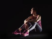 健康生活方式和体育概念 图库摄影