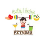 健康生活方式和健身 库存图片