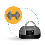 健康生活方式设计、健身和体型概念 免版税库存照片