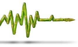健康生活 库存例证