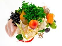 健康的副食品 免版税库存照片