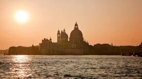 健康的圣母玛丽,威尼斯,意大利 图库摄影