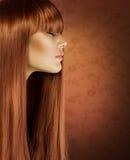 健康的头发 免版税库存照片