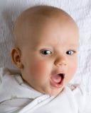 健康的婴孩 免版税库存照片