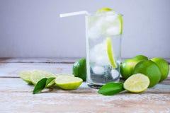 健康的新鲜的柠檬汁 库存照片