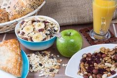 健康的早餐 免版税图库摄影