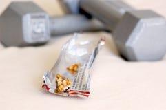 健康的格兰诺拉麦片 库存图片