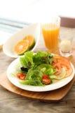 健康的沙拉 免版税库存照片
