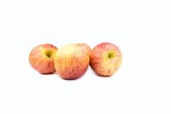 健康的红色新鲜的苹果 免版税库存照片