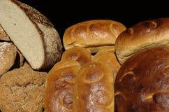 健康的面包 免版税库存照片