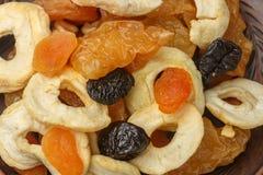 健康的食物 从干果子的混合 免版税库存图片