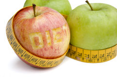 健康的饮食 库存图片