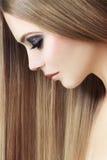 健康的头发 免版税库存图片