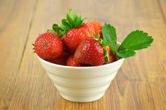 健康草莓 自然维生素 特写镜头 图库摄影
