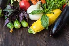 健康菜的混合 免版税库存照片