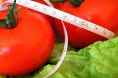 健康蕃茄沙拉 库存照片