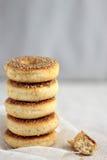 健康被烘烤的多福饼 免版税库存图片