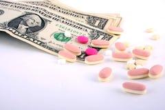 健康货币 免版税库存图片