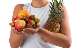 健康选择的食物 库存图片