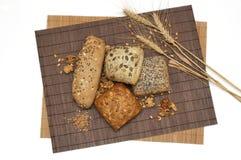 健康面包的纤维 库存图片