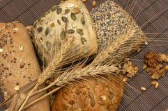 健康面包的纤维 库存照片