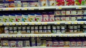 健康食品产品 免版税库存图片