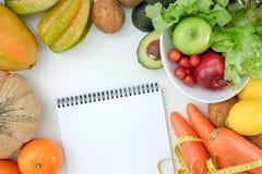 健康食品饮食斟酌损失概念能转化为酮的饮食 免版税库存图片